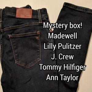 Mystery box- Madewell, Lilly Pulitzer, J. Crew